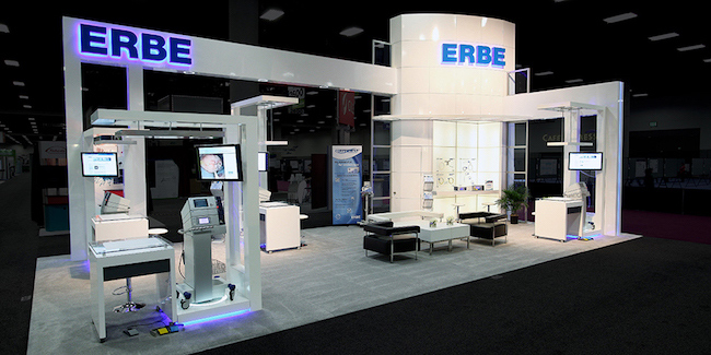 ERBE Custom Island Design | Exhibitus
